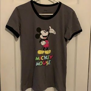 Mickey Mouse ringer tee for Women.